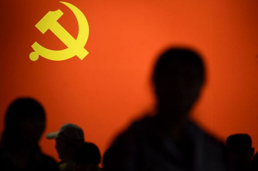 China's Communist Party has named new top officials to lead anti-corruption agencies at the country's banking and insurance regulators as it makes final preparations for a twice-a-decade party congress later this month.