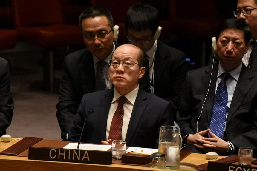 Veteran diplomat Liu Jieyi served as China's ambassador to the United Nations from August 2013 until last month when he was recalled to Beijing to await a new role.