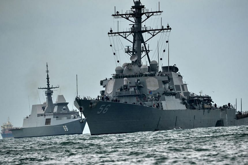 The collision of the USS McCain with a merchant ship near Singapore that killed 10 sailors was preventable, the US Navy said.