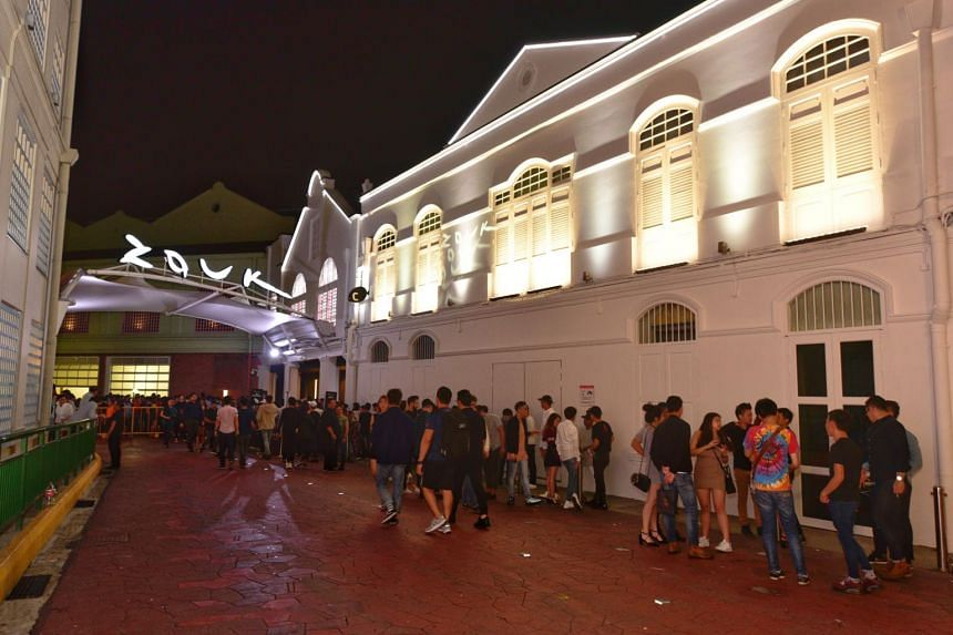 The Straits Times understands that Zouk is the nightclub involved in two of the three cases.