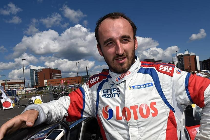 Robert Kubica in a photo from his Facebook page.