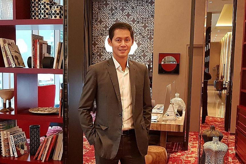 """Dr Goh Jin Hian, CEO of New Silkroutes Group, says Healthsciences International, which the group acquired in December last year, """"aspires to be a regional healthcare player in time to come""""."""