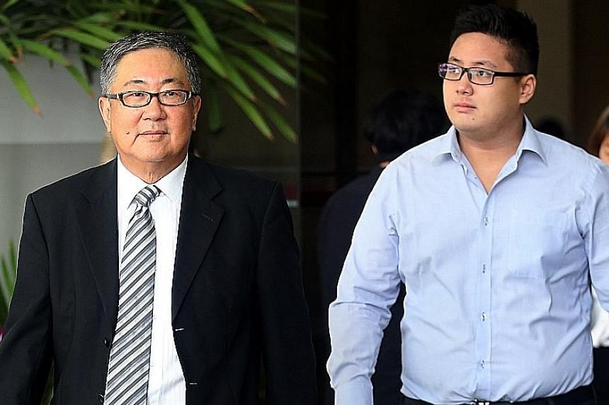 Isaac Tan Yang En, 25, the younger son of Senior Counsel Tan Chee Meng, was sentenced yesterday for evading NS for about six years. His older brother (not pictured) was sentenced to 16 weeks' jail in February for a similar offence involving a 10-year