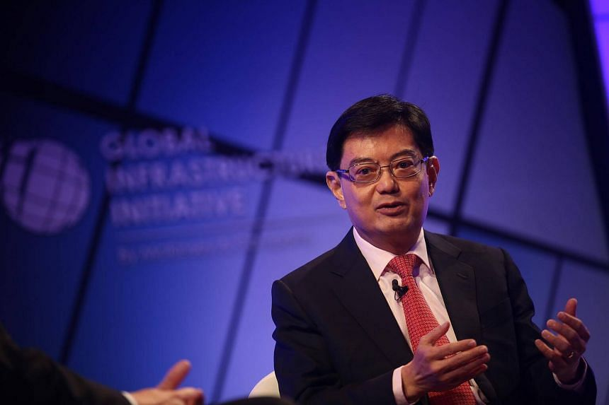 Finance Minister Heng Swee Keat in a dialogue at the 4th Global Infrastructure Initiative (GII) Summit on May 24, 2017.