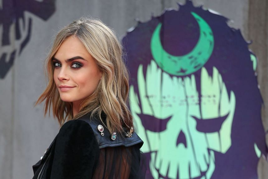Delevingne (above) alleged another woman was in his hotel room, and Weinstein asked them to kiss.