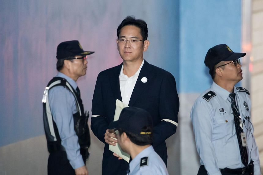 Lee Jae Yong was convicted by a lower court in August of bribing former South Korean president Park Geun Hye to help strengthen his control of Samsung Electronics.