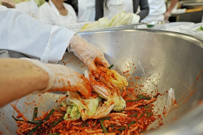 Koreans consumed 1.85 million tons of kimchi, up 15 per cent from the previous year.