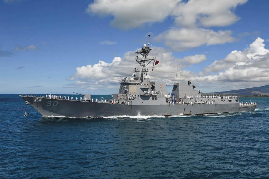 The Pentagon did not comment directly on the operation, but said the US carried out regular freedom-of-navigation operations and would continue to do so.
