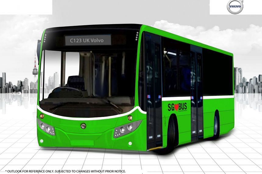 50 Volvo diesel-electric hybrid buses will be rolled out gradually for service by the second half of 2018.