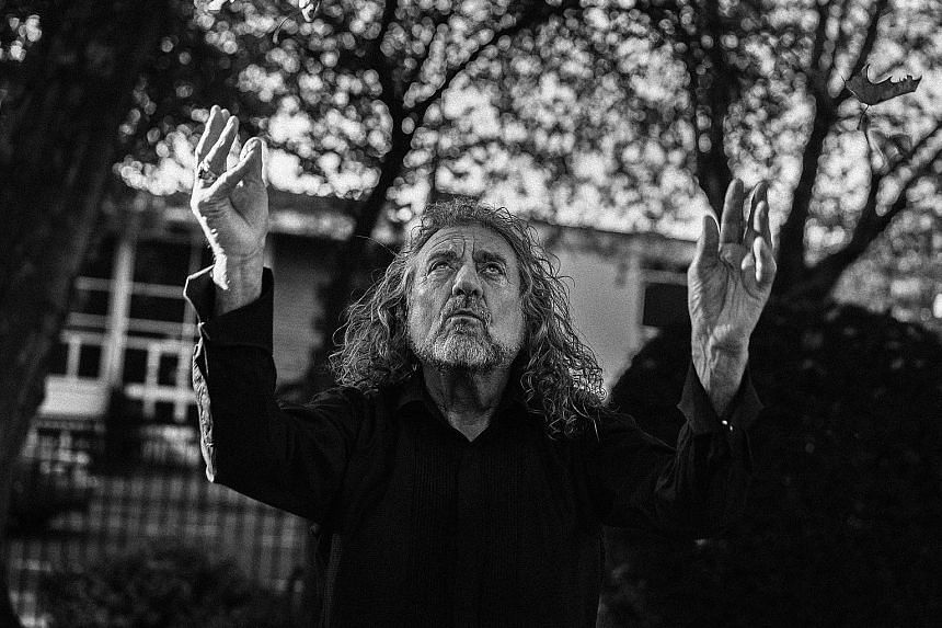 British singer Robert Plant's album Carry Fire is out today.