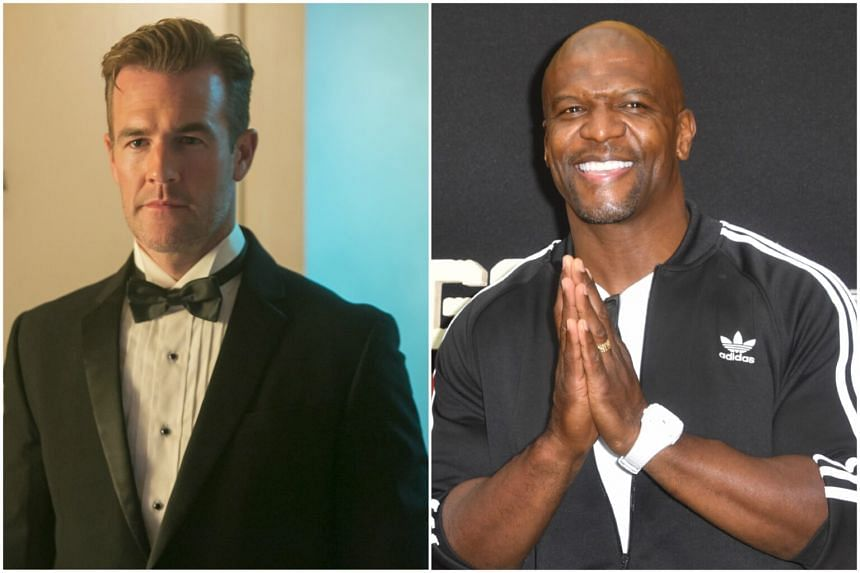 Actor James Van der Beek (left) and Terry Crews revealed that they have faced sexual harassment in their career.