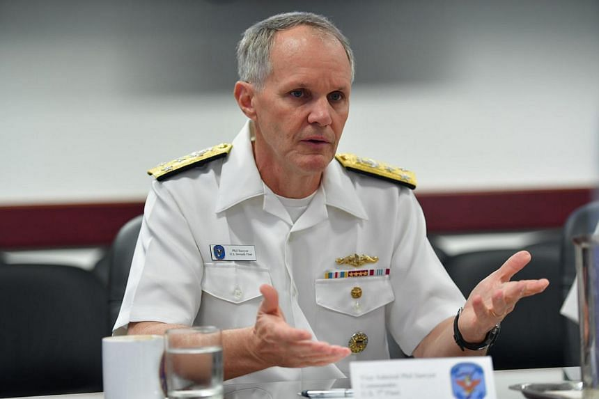 Vice-Admiral Phil Sawyer said the operational demands on the US Navy 7th Fleet were so high that not enough emphasis was placed on sailors' preparation and training.