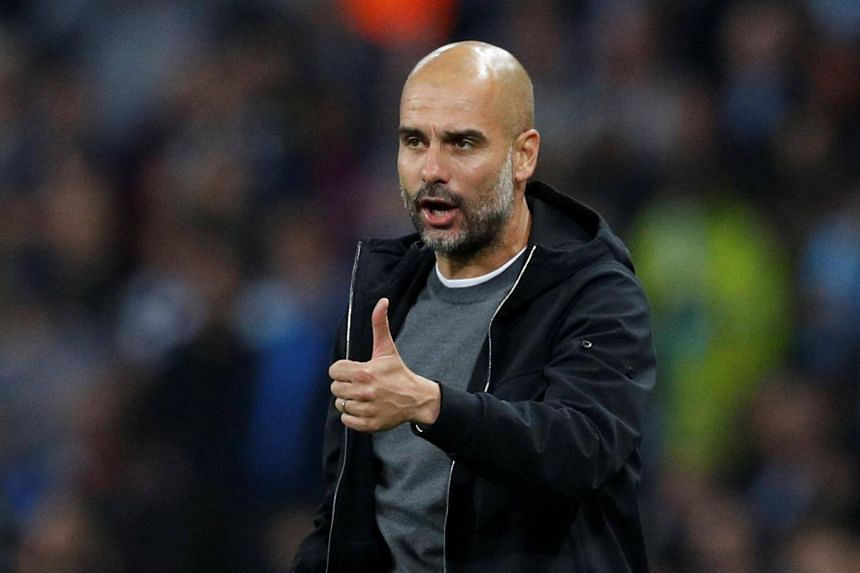 Manchester City boss Pep Guardiola was named as the Premier League manager of the month for September on Friday (Oct 13).