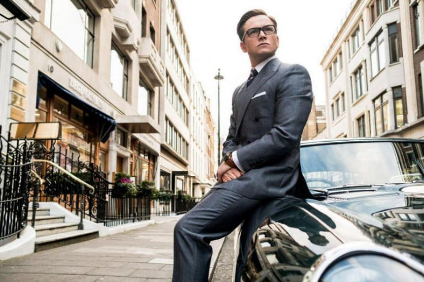 Taron Egerton in Kingsman: The Golden Circle.