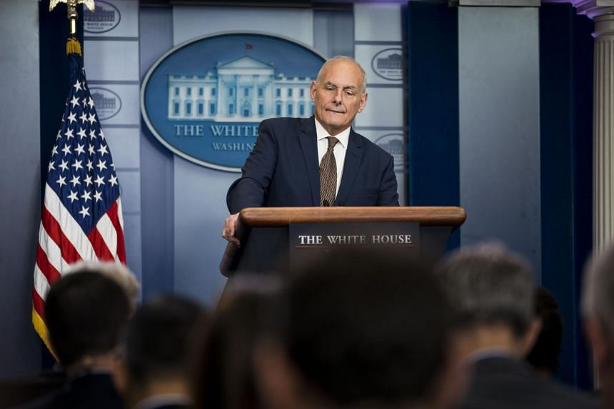 White House Chief of Staff John Kelly thinks the threat posed by North Korea's nuclear weapons capability is currently manageable.