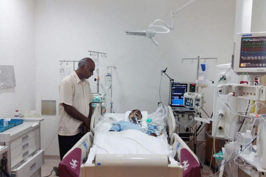 Security guard Thomas Lukose collapsed while on duty at Gleneagles Hospital. The hospital has said it will cover the rest of his medical bill.