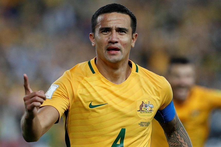 Tim Cahill Family