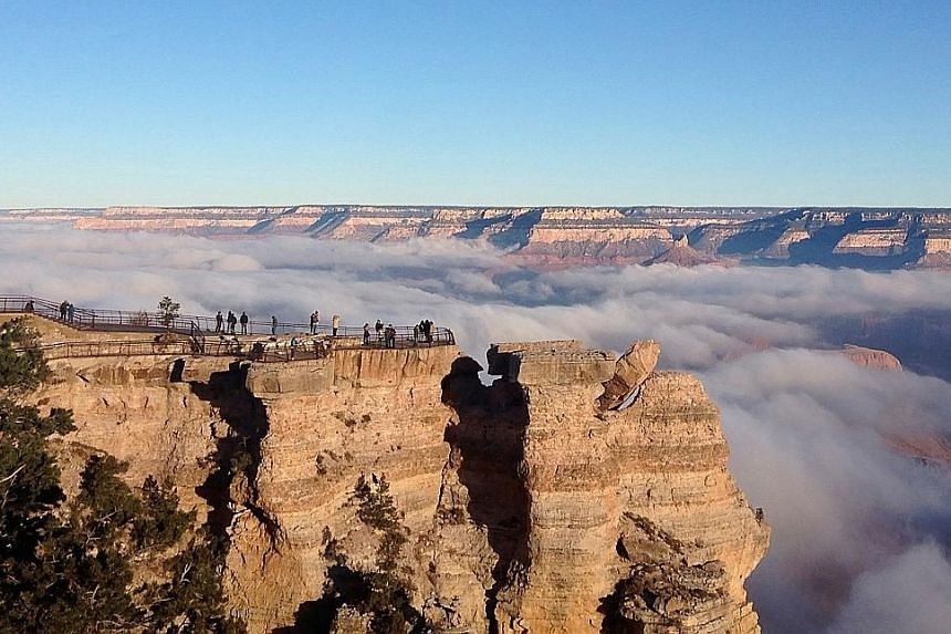 The Grand Canyon National Park in America, which is on the Unesco World Heritage list.