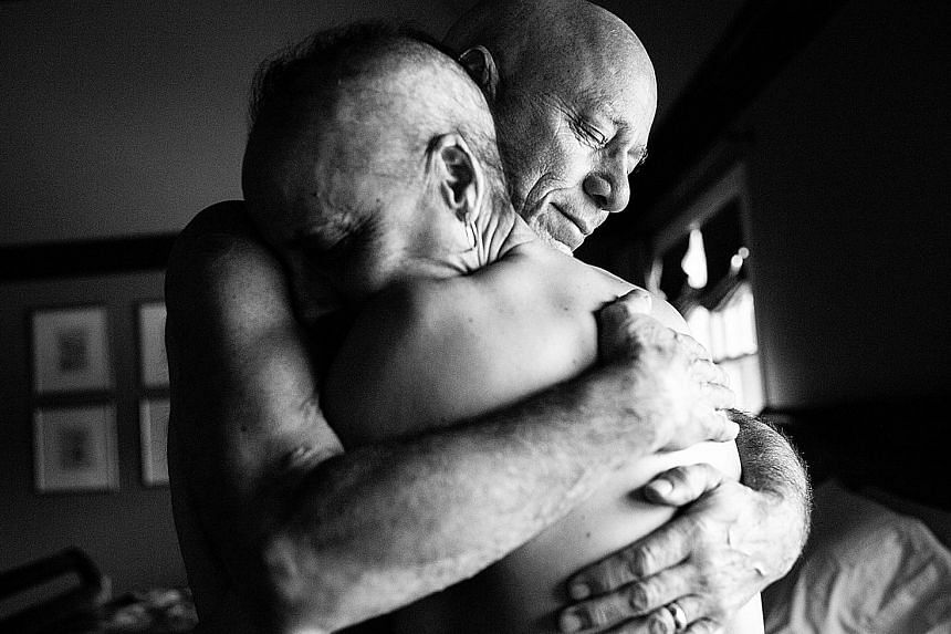 American photographer Nancy Borowick captured the last days of her parents (above), who both had cancer. Vietnam's Maika Elan explores the lives of same-sex couples in the country. (From left) Maika Elan from Vietnam, France's Sandra Mehl, American N