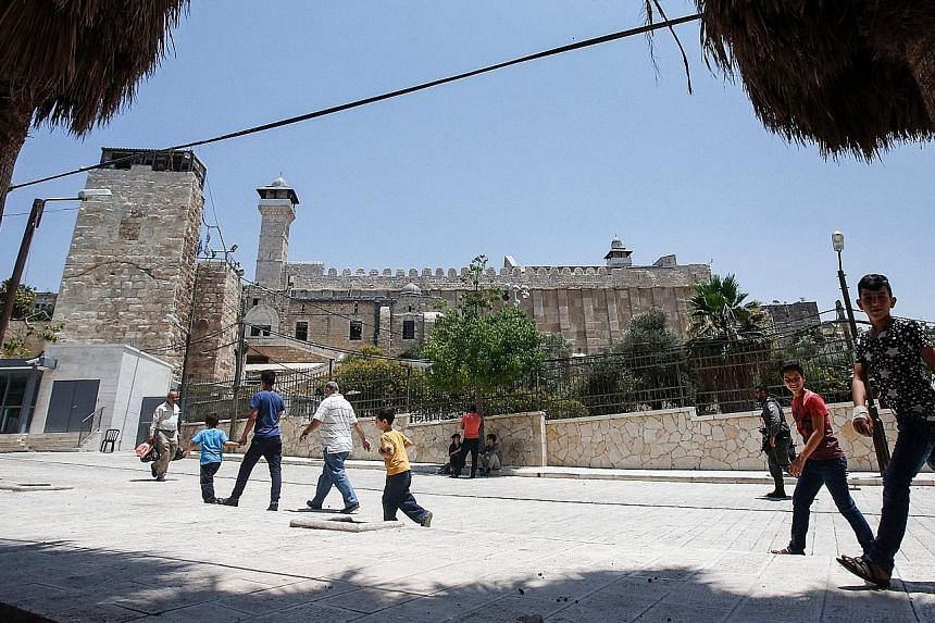 In July, Unesco declared the Old City of Hebron in the occupied West Bank an endangered World Heritage Site, angering Israel.