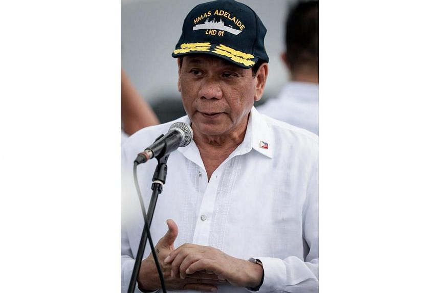 Philippine President Rodrigo Duterte said he would resort to a revolutionary government if communists and other opponents tried to destabilise his rule.