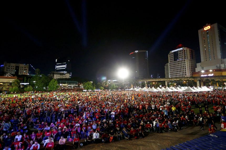 Saturday's rally was touted as the finale of a two month-long anti-kleptocracy roadshow.