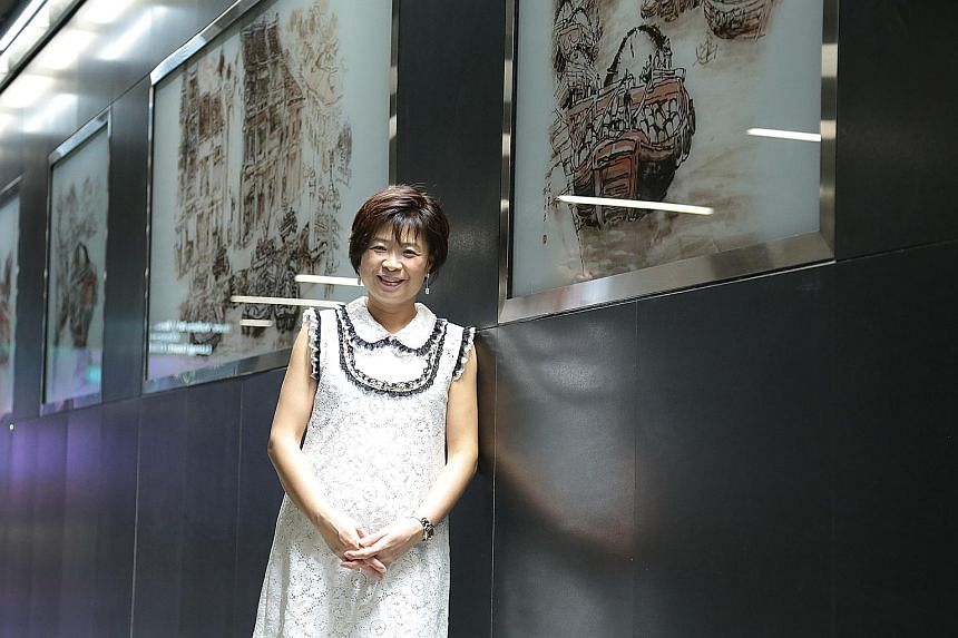 LTA's deputy group director for infrastructure design and engineering, Ms Choo Chai Foong, said part of the design thinking process involved interviewing commuters to find out their problems and preferences.