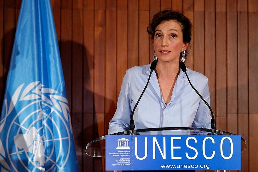 """Ms Audrey Azoulay says she will strive to """"restore"""" Unesco's credibility and efficiency by focusing on its core missions."""