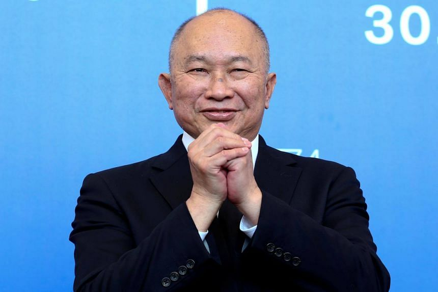 """John Woo, whose Hollywood films include Face/Off and Mission: Impossible II but who made his name with gritty Hong Kong thrillers like Hard-Boiled, said he was now hoping to inspire """"new voices"""" in the industry."""