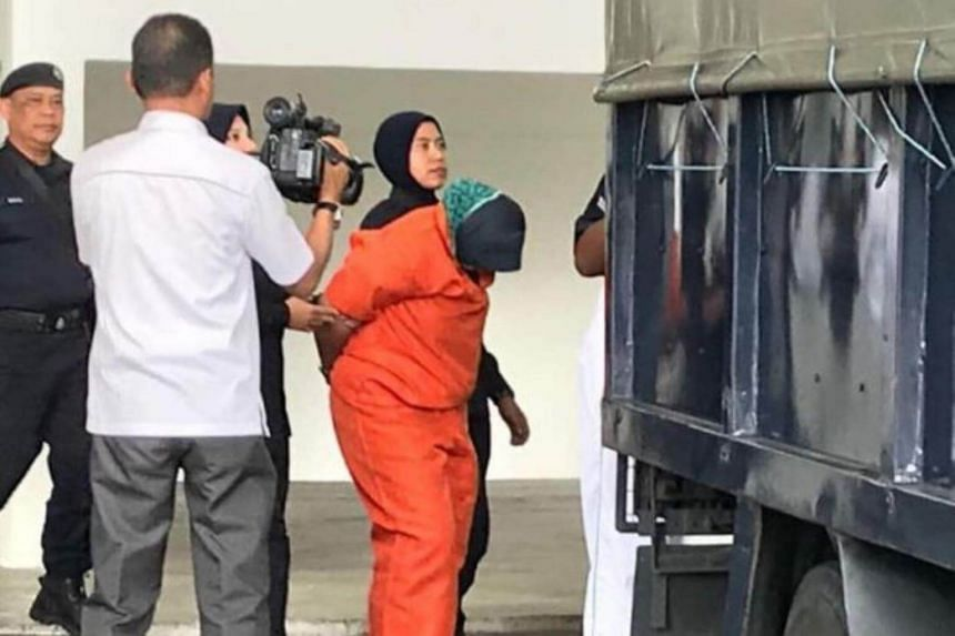 The woman is in remand for six days from today for murder and face the death sentence upon conviction.