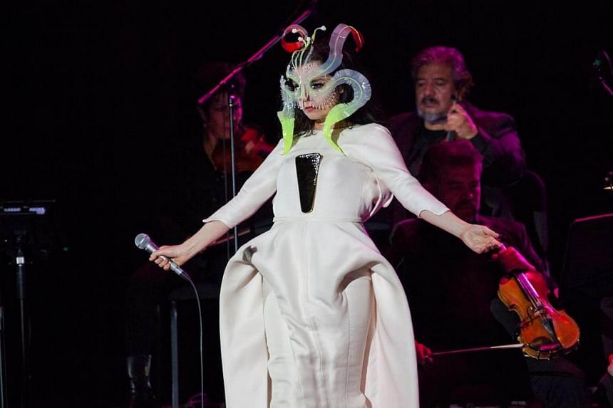 """Bjork said she was able to walk away from the incident with her career relatively intact because she had """"no ambitions in the acting world""""."""