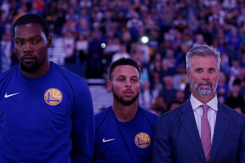 The Golden State Warriors are heavy favourites to win a second straight title after they regained the Larry O'Brien Trophy last season with a dominant 16-1 post-season run.