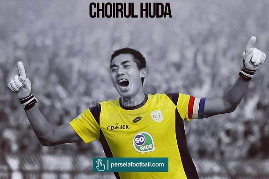 Choirul Huda, 38, collapsed towards the end of the first-half in a Liga 1 game against Semen Padang after colliding with team-mate Ramon Rodrigues and Padang forward Marcel Sacramento.