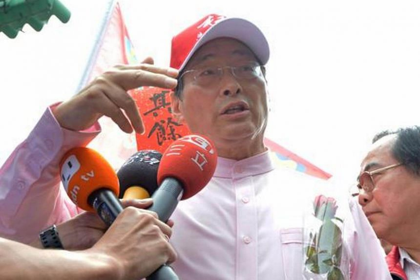 """The pro-China political party - the Chinese Unity Promotion - backs unification between China and Taiwan. The party is run by notorious gangster-turned-politician Chang An-lo, 70, also known as """"White Wolf""""."""