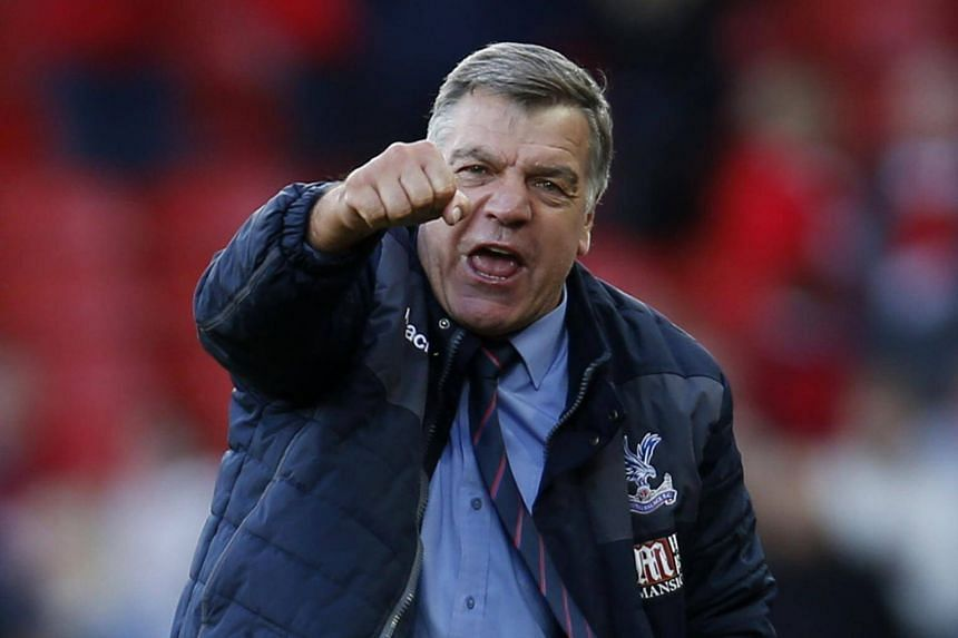 Crystal Palace manager Sam Allardyce says that he is still struggling to get over his past.