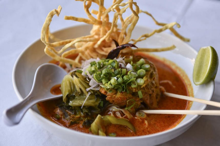 Baan Thai and its signature khao soi should be on Michelin's list of Washington, DC, cheap-eats destinations.