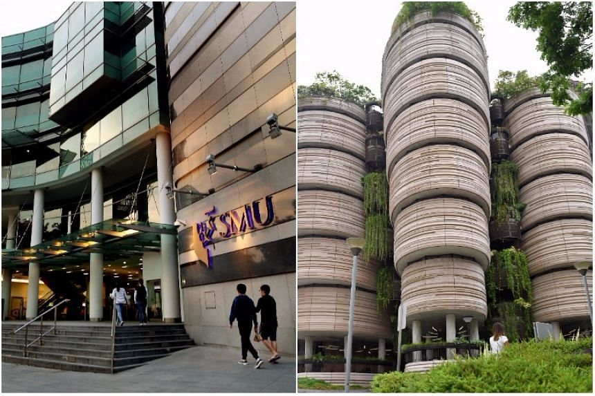 SMU and NTU have expanded their overseas entrepreneurship programmes over the past two years, sending students to a wider list of countries.
