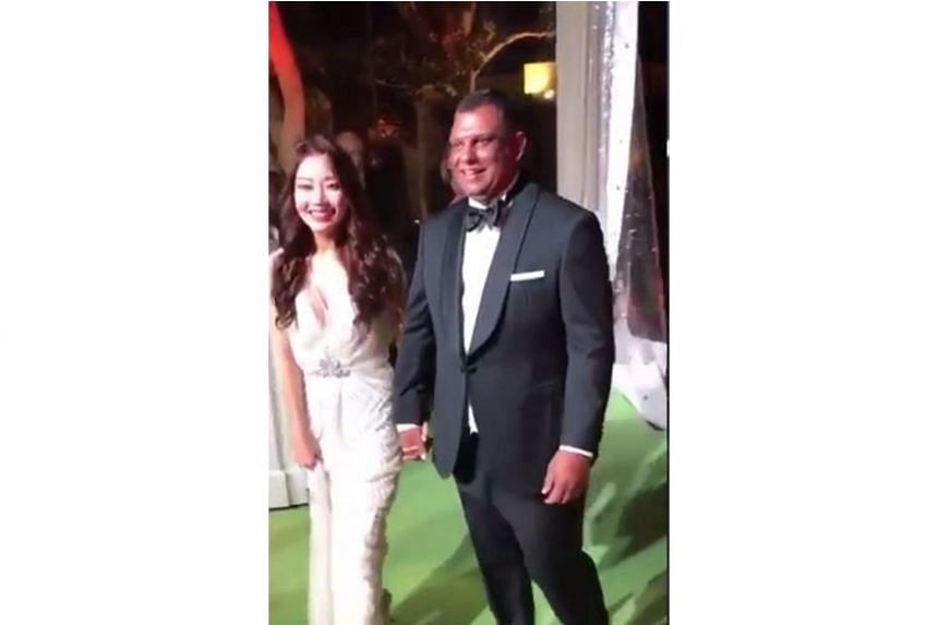 Videos of AirAsia chief Tony Fernandes' wedding, believed to be at the Cote d'Azur in France,have leaked online.