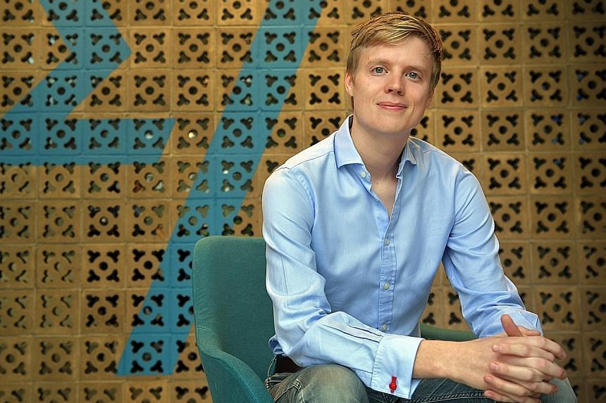 InstaRem chief executive Prajit Nanu and Transferwise head of banking Lukas May (above) are among a group of techies out to change the remittance industry by bringing down costs for those sending money overseas.