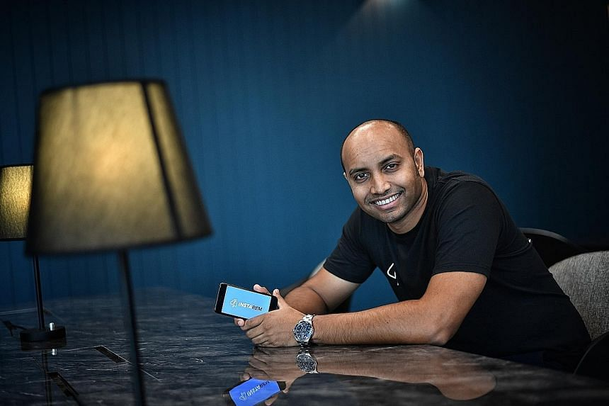 InstaRem chief executive Prajit Nanu (above) and Transferwise head of banking Lukas May are among a group of techies out to change the remittance industry by bringing down costs for those sending money overseas.