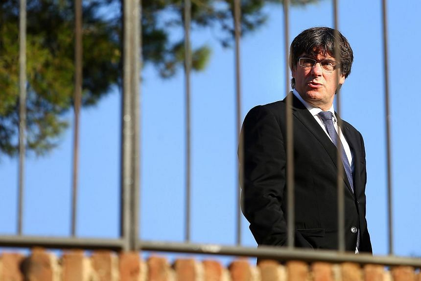 "Madrid warned Catalonia's separatist leader Carles Puigdemont he only had three days to ""return to legality"" after he refused to say whether he would declare independence outright."