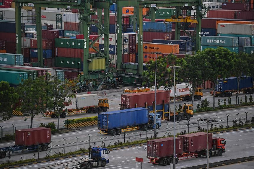 All things considered however, the latest data from trade agency International Enterprise Singapore has not alarmed economists.