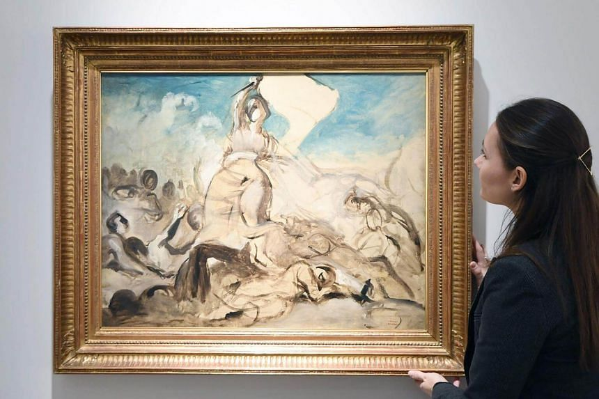 Art sales at Christie's in the first half of 2017 was £2.35 billion (S$4.22 billion), with Asia-based buyers accounting for 35 per cent of sales.