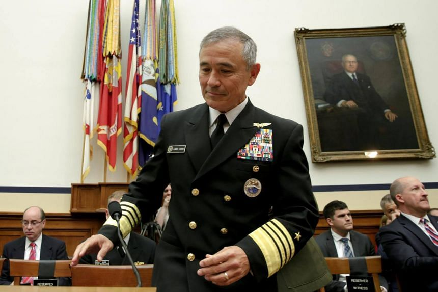 Admiral Harry Harris, commander of the US Pacific Command (Pacom) oversaw the launch of new high-end bilateral training opportunities between Singapore and the US, such as the inaugural bilateral naval exercise Pacific Griffin in Guam.