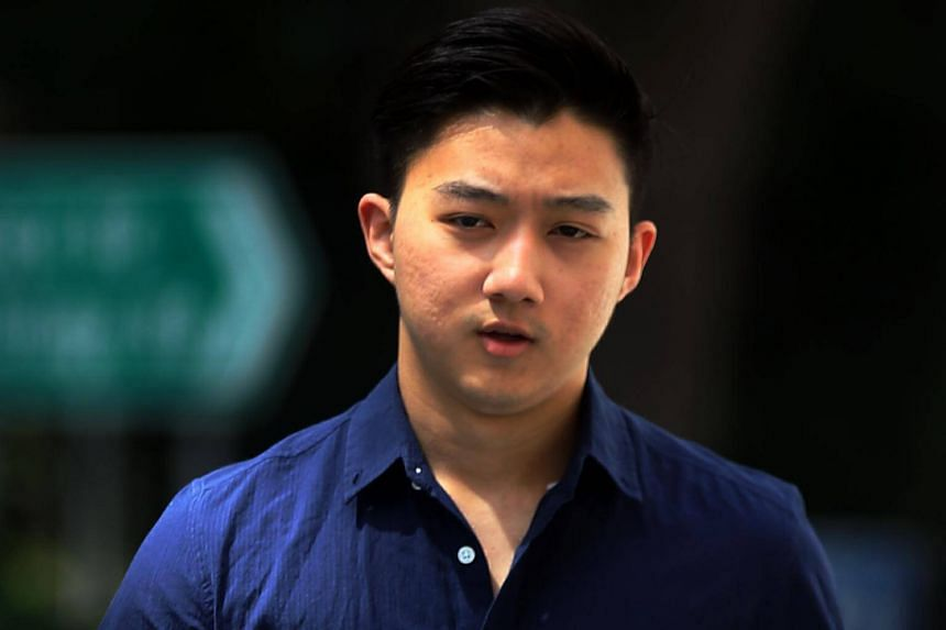 Full-time national serviceman Herman Shi Ximu, had driven his vehicle at a high speed near the Singapore Indoor Stadium last year when it hit a car, whose driver suffered broken ribs.