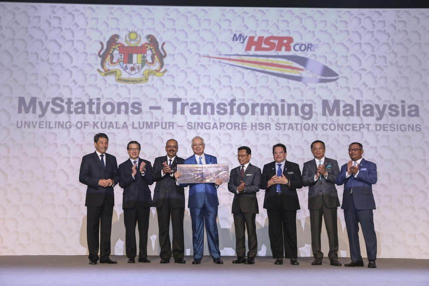 Malaysian Prime Minister Najib Razak said MyHSR, the Malaysian delivery partner for the bilateral project, has submitted applications for land freezing, so that the viability of the pre-selected corridor can be studied.