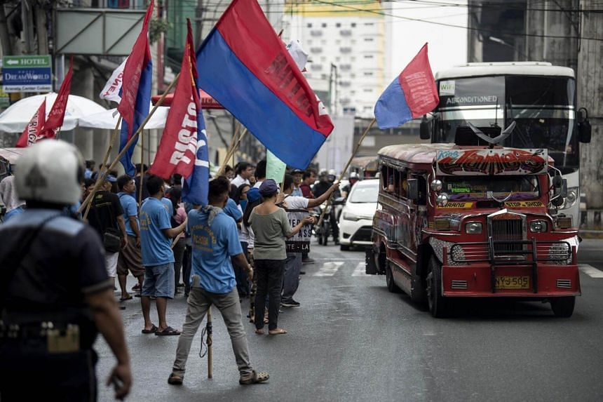 Philippine President Rodrigo Duterte's threat came after a two-day strike by jeepney operators led by the transport group PISTON, which had previously rejected the modernisation scheme.