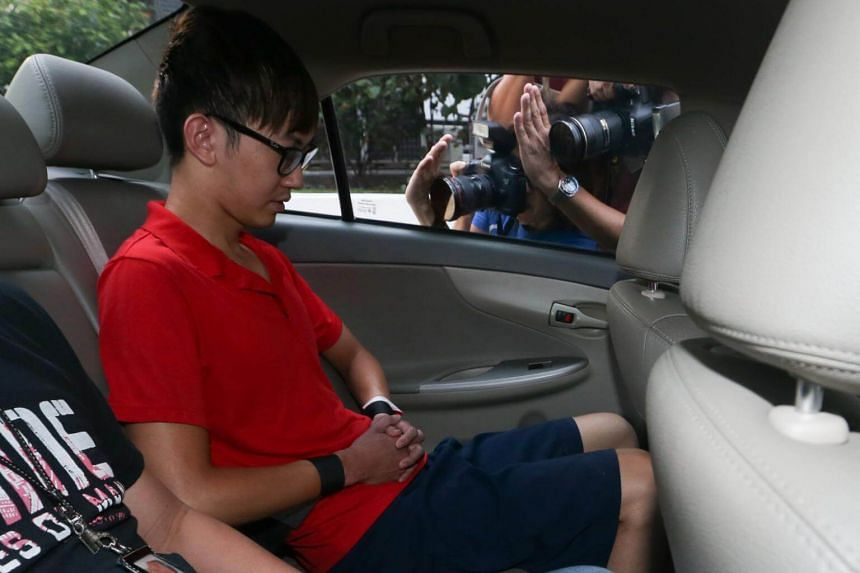 Neo Chun Zheng admitted to stabbing Ms Soh Yuan Lin once in the neck with a folding knife outside his flat at about 8pm on Nov 26, 2015.