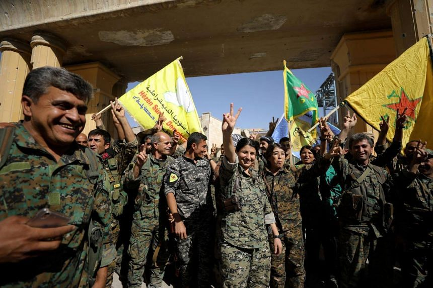 The Syrian Democratic Forces (SDF) flushed the few hundred ISIS fighters left in the city from their last positions in the main hospital and the national stadium.