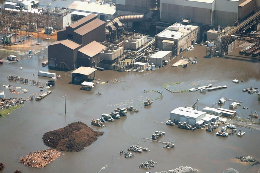 The Fed estimated that Hurricanes Harvey and Irma held down growth at factories by 0.25 percentage points in September. And for the quarter, industrial production declined at an annual rate of 1.5 per cent.